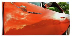 1969 Plymouth Road Runner 440 Roadrunner Beach Towel by Gordon Dean II