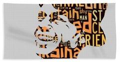 Frank Sinatra I Did It My Way Beach Sheet by Marvin Blaine