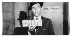 Frank Sinatra Beach Towel by Underwood Archives