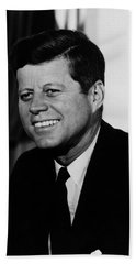 President Kennedy Beach Towel by War Is Hell Store