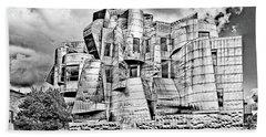 Weisman Art Museum Beach Sheet by Steve Lucas