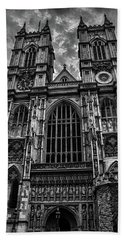 Westminster Abbey Beach Towel by Martin Newman
