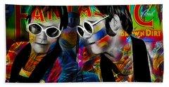 Elton John Collection Beach Towel by Marvin Blaine