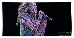 Steven Tyler Collection Beach Towel by Marvin Blaine