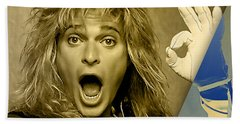 David Lee Roth Collection Beach Sheet by Marvin Blaine