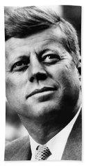 President Kennedy Beach Towel by War Is Hell Store