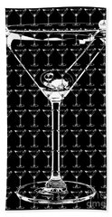 So Many Martinis So Little Time Beach Towel by Jon Neidert