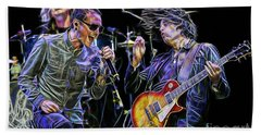 Stone Temple Pilots Collection Beach Sheet by Marvin Blaine