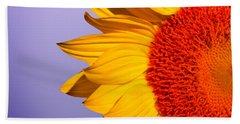Sunflowers Beach Towel by Mark Ashkenazi