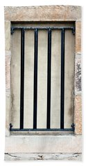 Window Bars Beach Sheet by Tom Gowanlock