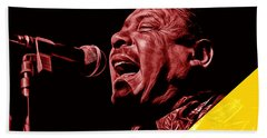 Big Joe Turner Collection Beach Towel by Marvin Blaine