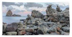 Aci Trezza - Sicily Beach Sheet by Joana Kruse