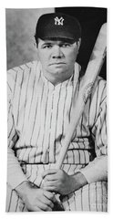 Babe Ruth Beach Towel by American School