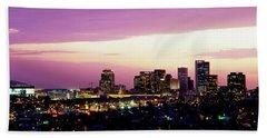 Phoenix Az Beach Towel by Panoramic Images