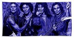 Van Halen Collection Beach Sheet by Marvin Blaine