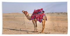Thar Desert - India Beach Towel by Joana Kruse