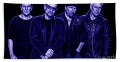 U2 Collection Beach Sheet by Marvin Blaine