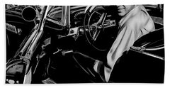 Frank Sinatra Collection Beach Towel by Marvin Blaine