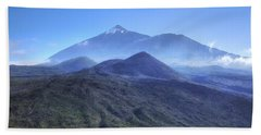 Tenerife - Mount Teide Beach Sheet by Joana Kruse