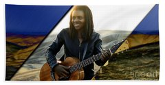 Tracy Chapman Collection Beach Sheet by Marvin Blaine