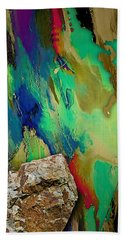 Rock Climber Collection Beach Sheet by Marvin Blaine