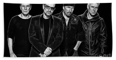 U2 Collection Beach Towel by Marvin Blaine