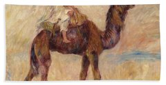 A Camel Beach Sheet by Pierre Auguste Renoir