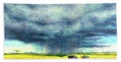 African Storm Beach Sheet by Tilly Willis