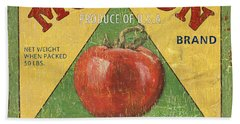 American Veggies 2 Beach Sheet by Debbie DeWitt
