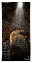 Ancient Dovecote Beach Towel by Adrian Evans