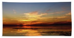 Beach Towel featuring the photograph Another Day by Thierry Bouriat
