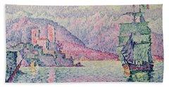 Antibes Beach Towel by Paul Signac