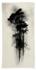 Enchanted Forest Beach Towel by Nicklas Gustafsson