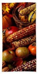 Autumn Harvest  Beach Sheet by Garry Gay