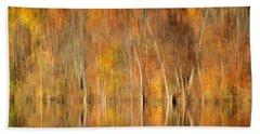 Autumns Final Palette Beach Towel by Everet Regal
