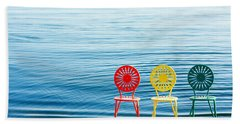 Available Seats Beach Towel by Todd Klassy