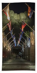 Avenue Of Flags Beach Towel by Juli Scalzi