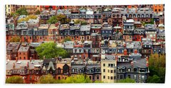 Back Bay Beach Towel by Rick Berk