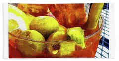 Best Bloody Beach Towel by Deborah Nakano