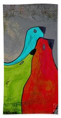 Birdies - V110b Beach Towel by Variance Collections
