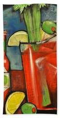Bloody Mary Beach Sheet by Tim Nyberg
