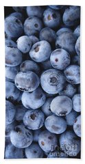 Blueberries Foodie Phone Case Beach Sheet by Edward Fielding