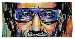 Bono Beach Towel by Amy Belonio