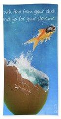 Break Free Beach Towel by Juli Scalzi