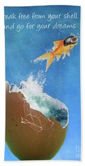 Break Free Beach Sheet by Juli Scalzi