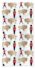 Buffalo Soldier Beach Towel by Beth Travers