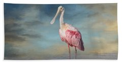 Call Me Rosy Beach Towel by Kim Hojnacki