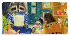 Candles On The Cake Beach Sheet by Lynn Bywaters