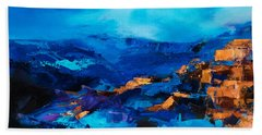 Canyon Song Beach Towel by Elise Palmigiani