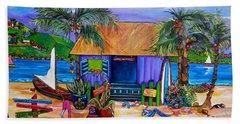Cara's Island Time Beach Sheet by Patti Schermerhorn
